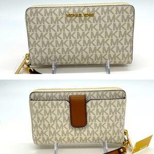 Michael Kors MD ZA Phone Holder Wallet Van…